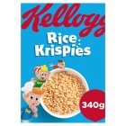 Kellogg's rice krispies - 340g Brand Price Match - Checked Tesco.com 18/08/2014
