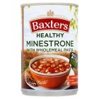 Baxters healthy choice minestrone wholemeal pasta soup - 400g Brand Price Match - Checked Tesco.com 09/07/2014