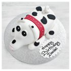 Spotty Dog Cake - each