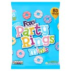 Fox's Party Rings Minis 6 Mini Bags - 6x21g
