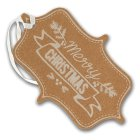 Waitrose Merry Christmas Gift Tags - 8s