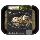 menu from Waitrose Rich, creamy chicken forestiere - 400g