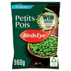 Birds Eye petits pois re-sealable