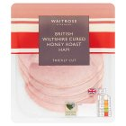 Waitrose Wiltshire Thick Cut Honey Roast Ham - 130g