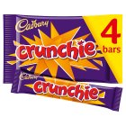 Cadbury Crunchie - 4 pack