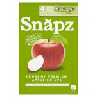 Snapz apple crisps - 4x13g