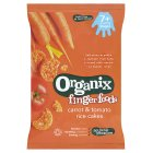 Organix organic carrot & tomato rice cakes - stage 2 - 50g Brand Price Match - Checked Tesco.com 05/03/2014