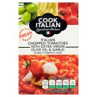 Cook Italian chopped tomatoes olive oil & garlic - 390g