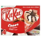 Nestlé KitKat cones - 4x125ml Brand Price Match - Checked Tesco.com 03/02/2016