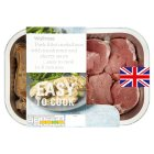 Waitrose Easy To Cook 8 Pork fillet medallions with mushroom & sherry sauce - 364g