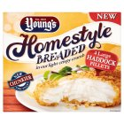 Young's 4 large haddock fillets in breadcrumbs - 480g