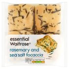 Waitrose mini rosemary & sea salt focaccia - 200g