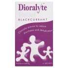 Dioralyte Relief blackcurrant - 6s