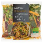 Waitrose vegetable ribbon pan fry - 265g
