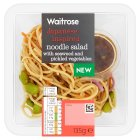 Waitrose Japanese inspired noodle salad - 135g Introductory Offer