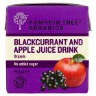 Peter Rabbit Organic blackcurrant and apple juice - 150ml Brand Price Match - Checked Tesco.com 25/08/2014