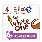 Ella's kithen the white one squished smoothie fruits - 4x90g Brand Price Match - Checked Tesco.com 25/08/2014