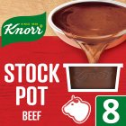 Knorr beef 8 pack stock pot - 8x28g