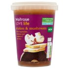 Waitrose LOVE life chicken & mushroom - 600g