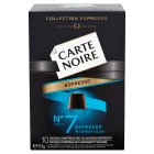 Carte Noire espresso no.7 aromatique, 10 coffee capsules - 53g Brand Price Match - Checked Tesco.com 16/07/2014