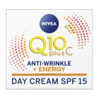 Nivea Q10plus energising day cream - 50ml
