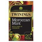 Twinings Moroccan mint 20 envelopes - 40g Brand Price Match - Checked Tesco.com 16/04/2015