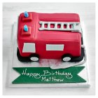 Fire Engine Cake -