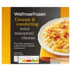 Waitrose Frozen mini macaroni cheese - 250g