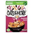 Nestle Oats & More raisin cereal