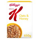 Kellogg's Special K oats & honey - 650g Brand Price Match - Checked Tesco.com 16/04/2014