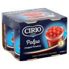 Cirio canned chopped tomatoes, 4 pack - 4x400g Brand Price Match - Checked Tesco.com 08/02/2016