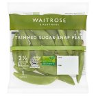 Waitrose ready-trimmed sugar snap peas - 100g
