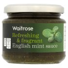 Waitrose English mint sauce - 195g