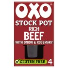 Oxo 4 Stock Pot Beef - 80g Brand Price Match - Checked Tesco.com 25/11/2015
