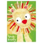 Lion Birthday Card - 1x1each