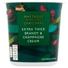 Waitrose Channel Island champagne cream - 250ml