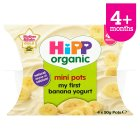 Hipp mini pots banana yogurt