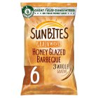 Walkers Sunbites Honey Glazed BBQ - 6x25g