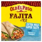 Old El Paso extra mild fajitas - 476g Brand Price Match - Checked Tesco.com 16/04/2014