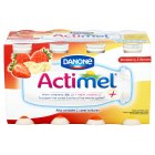 Actimel strawberry & banana - 8x100g Brand Price Match - Checked Tesco.com 16/07/2014