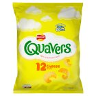 Walkers Quavers cheese multipack crisps - 12s Brand Price Match - Checked Tesco.com 16/07/2014