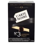 Carte Noire espresso no.3 elegant, 10 coffee capsules - 53g New Line