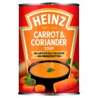Heinz Classic carrot & coriander Soup - 400g Brand Price Match - Checked Tesco.com 30/07/2014