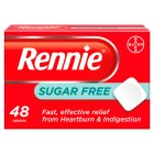 Rennie sugar free - 48s Brand Price Match - Checked Tesco.com 25/02/2015