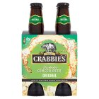 Crabbies Alcoholic Ginger Beer - 4x330ml