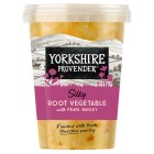 Yorkshire Provender root vegetable soup with pearl barley - 600g