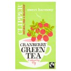 Clipper fairtrade cranberry green tea - 40g New Line