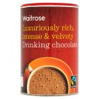 Waitrose luxuriously rich drinking chocolate - 250g