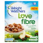 Weight Watchers love fibre flakes raisins & sultanas - 375g