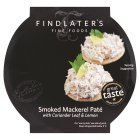 Findlater's Fine Foods smoked mackerel pate - 115g